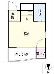 サン赤池[2階]の間取り