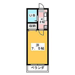 アーバニーハイム柴崎[2階]の間取り