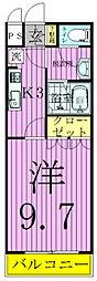 千葉県柏市手賀の杜3の賃貸アパートの間取り