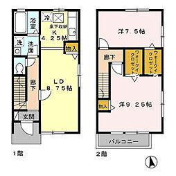 瀬谷区宮沢1丁目 シルクコート壱番館103号室[1階]の間取り