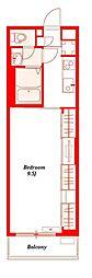 リブリ・FEEL−M湘南III[2階]の間取り