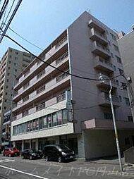 北海道札幌市中央区南六条西11の賃貸マンションの外観