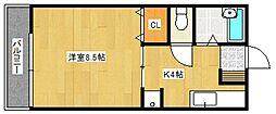 よさ荘[2階]の間取り