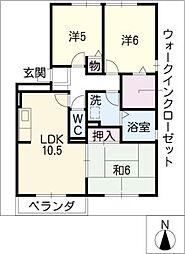 ロイヤルガーデン北屋敷IIIA棟[1階]の間取り