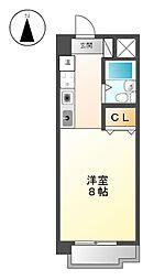 ファースト尼ヶ坂[3階]の間取り
