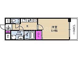 メゾンプロムナード[1階]の間取り