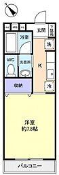 八千代第7弐番館[2階]の間取り