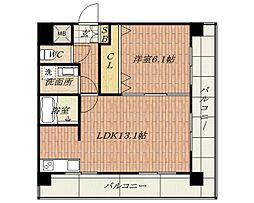 BONNE RECOLTE(ボンヌ レコルト)[5階]の間取り