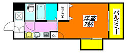 大宝グランシャリオ 201号室[2階]の間取り