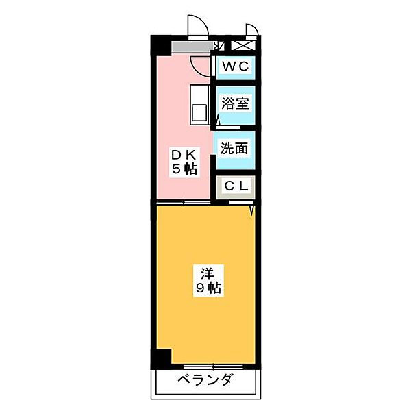 Exceed[2階]の間取り