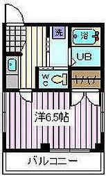 埼玉県さいたま市桜区田島3丁目の賃貸マンションの間取り