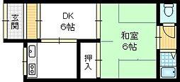 [テラスハウス] 大阪府大東市諸福6丁目 の賃貸【/】の外観