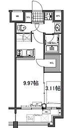 GRAND HILL IWASE BLD 2015年築[12階]の間取り