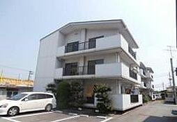 岡山県岡山市北区久米の賃貸マンションの外観