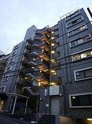 神奈川県横浜市神奈川区台町の賃貸マンションの外観