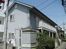 神奈川県横浜市港北区大倉山3丁目の賃貸アパートの外観