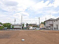 15号地(写真中央奥) 現地写真 東久留米市八幡町2丁目