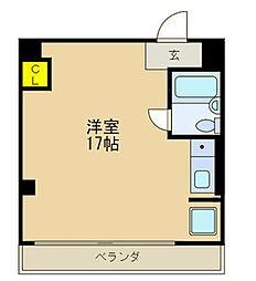 JPアパートメント守口VI[5階]の間取り