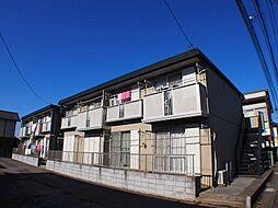 栃木県宇都宮市今宮1丁目の賃貸アパートの外観