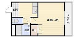 北本町プラザ2[3階]の間取り