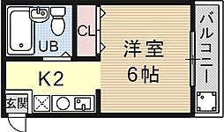 VIP大宅[205号室号室]の間取り