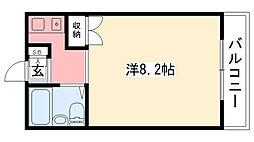 モギハイツ[303号室]の間取り