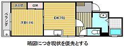 愛知県名古屋市東区筒井3丁目の賃貸マンションの間取り