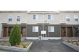 香川県高松市多肥上町の賃貸アパートの外観