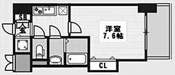 ラグゼ新大阪IV[706号室]の間取り