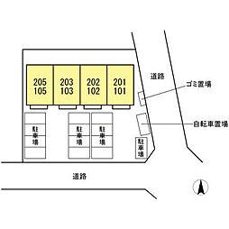 仮)D-room文教台[103号室]の外観