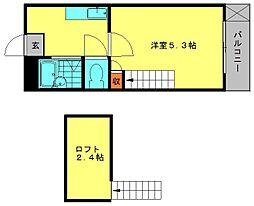 メルティングホーム1[1階]の間取り