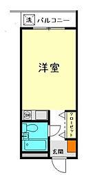 Cityメゾン川本[304号室]の間取り