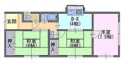 [一戸建] 京都府長岡京市馬場2丁目 の賃貸【/】の間取り