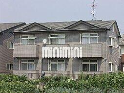 サンシャインW D[1階]の外観