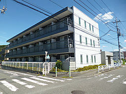 東京都八王子市下柚木2丁目の賃貸マンションの外観