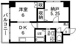 HERITAGR(ヘリテージ)高井田[307号室号室]の間取り