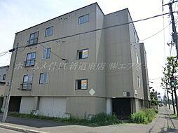 北海道札幌市東区北四十三条東3丁目の賃貸マンションの外観