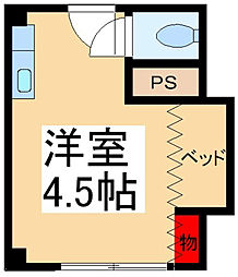 メゾン・ダイトウ[3階]の間取り