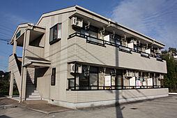 愛知県日進市梅森町北面田の賃貸アパートの外観