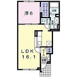 北海道札幌市手稲区前田十条13丁目の賃貸アパートの間取り