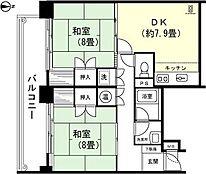 和室8畳 和室8畳 LDK約7.9畳