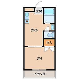 レオヤカタ[5階]の間取り