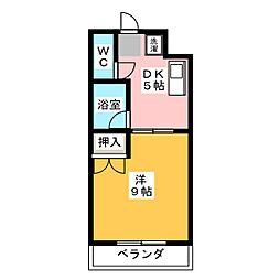 エグゼ3[2階]の間取り