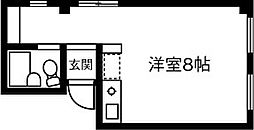ヤサカビル[303号室]の間取り