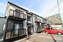 新潟県新潟市中央区南笹口1丁目の賃貸アパートの外観