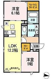 仮)D-room円行2丁目[1階]の間取り