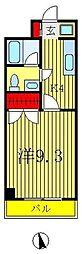 東豊マンション[1階]の間取り