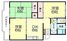 長澤ビル[4階]の間取り