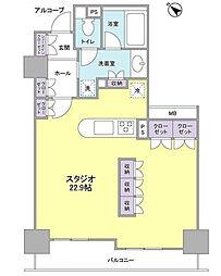 グレンパークG−WEST[15階]の間取り