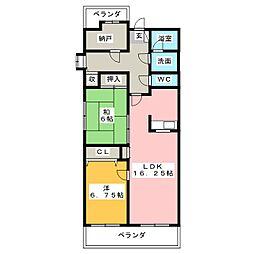 RM2高崎[9階]の間取り